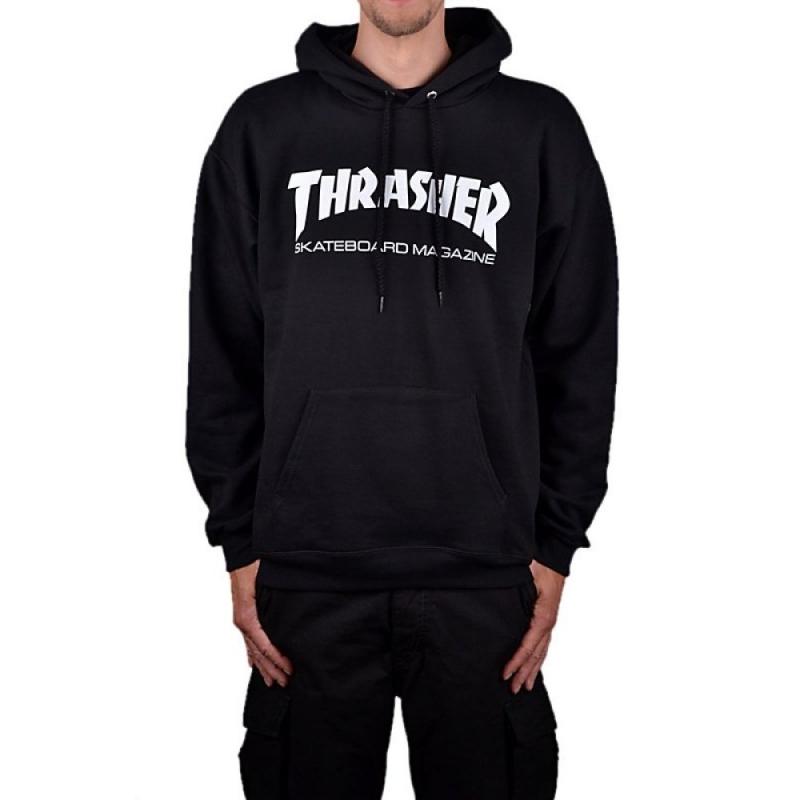 thrasher hometown black hooded skateshop 24 7 online. Black Bedroom Furniture Sets. Home Design Ideas